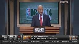 Best Draft Moment! NBA Drafts Isaiah Austin