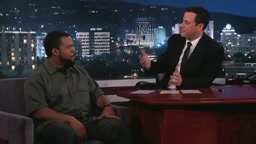Ice Cube Says Nice Things Angrily on Jimmy Kimmel