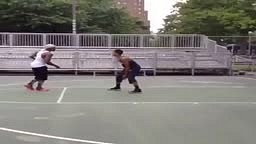 STREETBALL 2014: Bone Collector Makes Kid Fall with Killer Crossover Dyckman Nyc