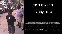RIP Eric Garner! NY Police CHOKE and SLAM Innocent Black Man to DEATH!