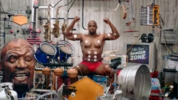 LOL! Terry Crews Old Spice The Power of Music Commercial