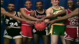 Michael Jordan VS Dominique Wilkins Best Slam Dunk Contest Ever!