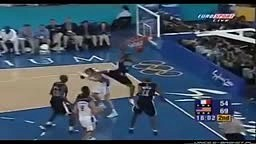 Vince Carter's EPIC TEAM USA Dunk! JUMPS OVER 7 Footer HEAD