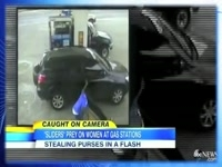 STEALING PURSES in a FLASH at Gas Stations