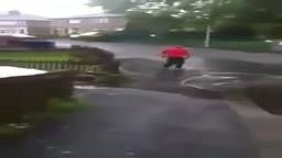 LMFAO! Guy Gets SPLASHED TWICE by Cars