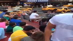 Marriage Proposal FAIL: Times Square Ny