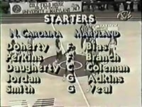 North Carolina at Maryland_ 1984 (Michael Jordan vs Len Bias)