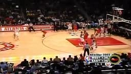 Michael Jordan's Last Allstar Game ALMOST ends EPIC