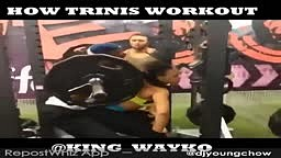 How Trinis Workout