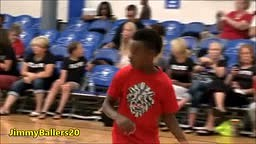 9-year old _LeBron James Jr._ at 2014 AAU Championships