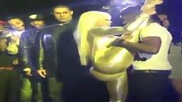 Tyga's Girl Blac Chyna Shows Off Flexibility