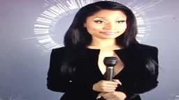 Nicki Minaj gives reporter attitude at Award Show
