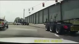 Terrible Truck Driver Accident