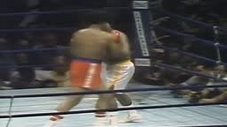 Foreman vs Frazier - 5th Round Knockout
