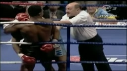 Mike Tyson BLACKS OUT and Keeps Beating Up Fighter After the Ref Stops the Fight