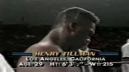 Mike Tyson vs. Henry Tillman