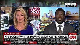 CNN CUTS OFF football player Benjamin Watson for preaching gospel when discussing Ferguson