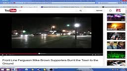 SWAT Police Caught Setting Fires In Ferguson