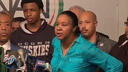 Eric Garner's wife responds to the officer's apology