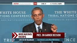 President Obama talks Eric Garner Decision
