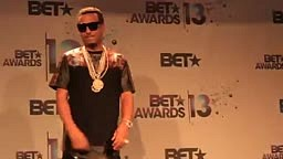 French Montana at the Bet Awards