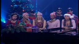 Jamie Foxx Jennifer Lopez and Jim Carrey Sing This Christmas on in Living Color