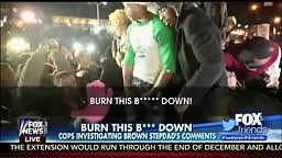 Mike Brown Step Dad Says Burn this B*tch Down