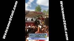 Tyga Surprise Performance at Vegas POOL Party