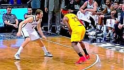 Jay-z Hilarious Reaction to Lebron James INSANE Turn around Jumper vs Brooklyn Nets