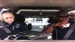 2 Cops in the Car Rapping
