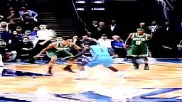 Lance Stephenson with the in and out and Shimmy