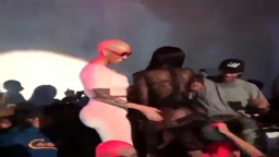 Amber Rose and Blac Chyna Twerking at Supper Club in Hollywood