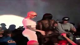 Amber Rose & Blac Chyna TWERKING at The Supper Club
