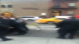 NYPD PUNCH 12 year old in the stomach repeatedly