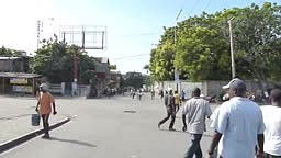 BREAKING United Nations Peacekeeper Soldiers Fire on Protestors in ‪#‎Haiti‬