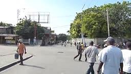 BREAKING United Nations Peacekeeper Soldiers Fire on Protestors in #Haiti