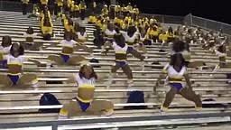DRUMLINE Cheerleaders Getting it IN Coming to America Style!