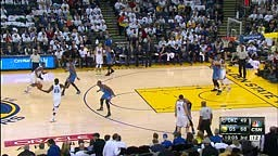 ooooh Weee! Klay Thompson DUNKS Over Kevin Durant! (Video)