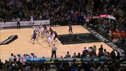 Pistons Upset Spurs On Brandon Jennings' Game Winner