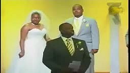 Wedding Party Does Harlem Shake in Middle of Wedding Ceremony