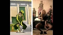 Proof Beyonce Steals her dance Moves from Cartoons