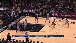 Thomas Serves Up the High-Flying Oop to Gerald Green