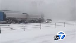 Nearly 200 cars and trucks collide in a massive, chain-reaction crash on an icy Michigan highway