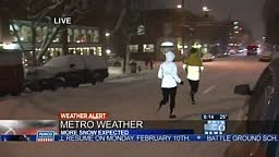 Why you Should NOT go JOGGING in the Snow!