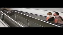 Why you should NOT Walk the WRONG WAY on an Escalator