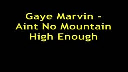 Marvin Gaye- Aint No Mountain High Enough