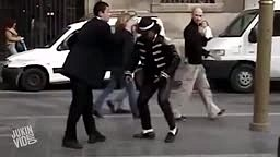 Michael Jackson STREET Dance Off!