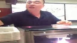 Asian Man Talking Black to Sell Chinese Food