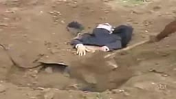 Man Buried Alive Prank
