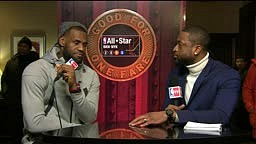 LeBron James Interview With Dwyane Wade | NBA All-Star Weekend 2015